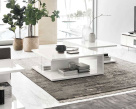 Isla Modern White Gloss Coffee Table