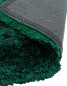 Plush Emerald Green Rug - London