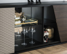 Aston Sideboard - Mirrored Central Section