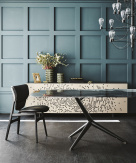 Atlantis Crystalart Dining Table - Cattelan Italia