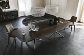 Atlantis Wood Dining Table - Cattelan Italia