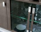 Ayla 4 Door Sideboard - Glass Doors