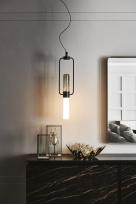Bamboo Italian Ceiling Light