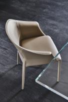 Zuleika Leather Dining Chair
