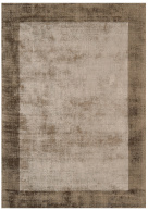 Vita Border Chocolate / Mocha Rug - Asiatic
