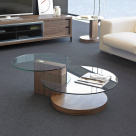 Boka Glass Top Coffee Table