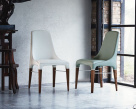 Bontempi Casa - Kelly Dining Chair in Eco Leather