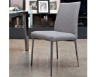 Bontempi Mila Nabuk Fabric Dining Chair