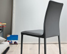 Bontempi Casa Nata High Back Dining Chair in Eco Leather
