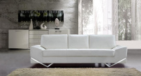 Madison Modern Leather Sofa Suite