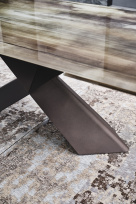 Tyron Crystalart Italian Extending Dining Table