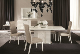 Canova Dining Set - White Gloss Dining Table