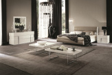 Canova White Gloss Bedroom Furniture Set