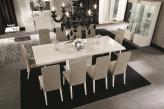Canova Extending Dining Table - White High Gloss