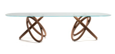 Carioca Dual Dining Table - Side View