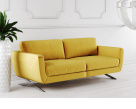 Caruso Modern Fabric Sofa