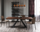 Cattelan Italia Edward Wood Drive Dining Table