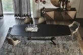 Cattelan Italia Designer Wood Top Dining Table - Top View