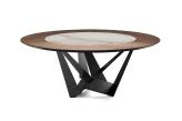 Cattelan Italia Skorpio Ker-Wood Round Dining Table