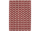 Arlo Chevron Red Rug - Asiatic