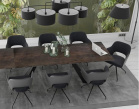 Chicago Charcoal Dining Chair