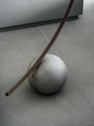 Circle Floor Lamp - Concrete Base