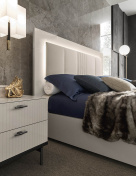Clarissa Bed with LED Lighting