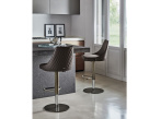 Clara Diamond Swivel Bar Stool