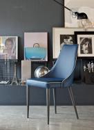 Clara Metal Leg Dining Chair