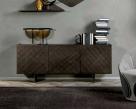 Coated Sideboard - Brushed Bronze