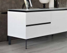 Cosmopolitan Large Wood Sideboard - White