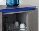 Cosmopolitan Small Ceramic Cupboard - Door Open