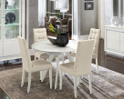 Dexter White Gloss Dining Table