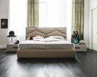 Edward Leather Bed
