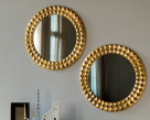 Egypt Round Mirror