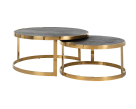 Venus Gold Round Coffee Table