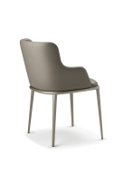 Magda ML Carver Leather Dining Chair