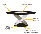 Fusion Ring Round Table - Description