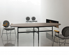 Glamour Oval Wood Dining Table
