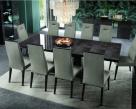 Heritage Extending Dining Table - Dark Velvet Birch Wood