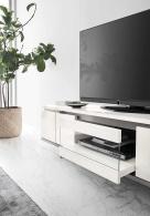 Isla Modern White Gloss TV Unit
