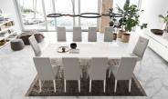Isla Modern White Gloss Dining Chair
