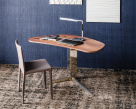 Island Wood Desk
