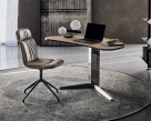 Island Wood Top Office Desk