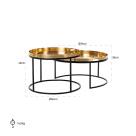 Jaya Coffee Table - Dimensions