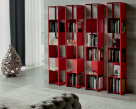 Joker Bookcase - Red