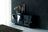 Kayak Black Gloss Sideboard