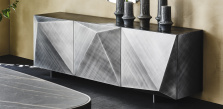 Kayak Brushed Grey Sideboard - Cattelan Italia