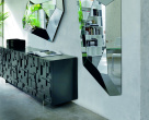 Labyrinth Black Gloss Sideboard