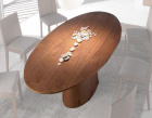 Trunk Dining Table - Oval Top